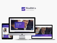 WealthCo | Business & Financial Consulting WordPress Theme