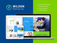 Wilson Electrical – Repair and Maintenance Services WP Theme