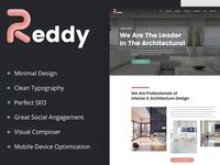 Reddy – Architecture & Interior Design WordPress Theme