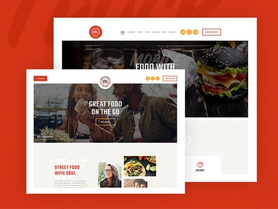 Street Food Festival & Fast Food Delivery WordPress Theme