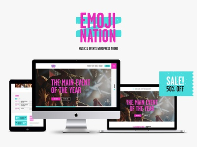 EmojiNation | Night Club & Concert WordPress Theme essential grid photos information about artists dj concert wordpress blog wordpress wordpress themes wordpress template festival wordpress theme dj  wordpress theme night club wordpress theme concert wordpress theme