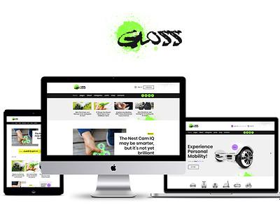 Gloss   Viral News Magazine WordPress Blog Theme wordpress themes webdesign blogging blog wordpress web design wordpress theme