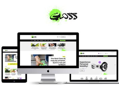 Gloss | Viral News Magazine WordPress Blog Theme