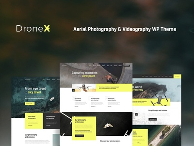 DroneX | Aerial Photography & Videography WordPress Theme wordpress design webdesign wordpress themes web design wordpress wordpress theme