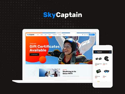 SkyCaptain | Skydiving & Extreme Flying Sports WordPress Theme blog wordpress design webdesign wordpress themes wordpress web design wordpress theme