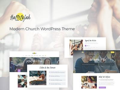 Hallelujah | Church & Religion WordPress Theme blogging blog wordpress design webdesign wordpress themes web design wordpress wordpress theme