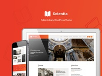 Scientia | Public Library & Book Store Education WordPress Theme