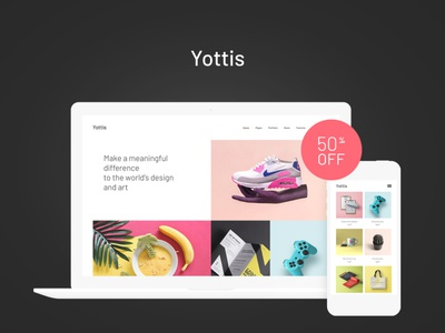Yottis | Personal Creative Portfolio WordPress Theme + Store business blogging wordpress blog theme blog wordpress design webdesign wordpress themes web design wordpress wordpress theme