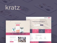 Kratz | Digital Agency WordPress Theme