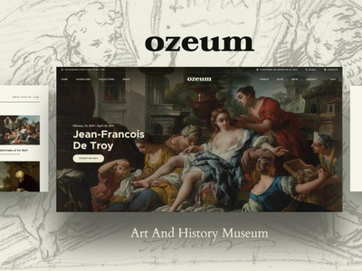 Ozeum | Art Gallery and Museum WordPress Theme museum wordpress theme museum wordpress themes web design wordpress wordpress theme