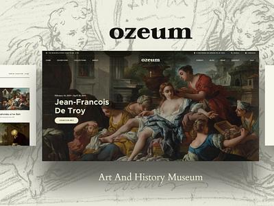 Ozeum | Art Gallery and Museum WordPress Theme museum wordpress theme museum wordpress themes web design wordpress wordpress theme