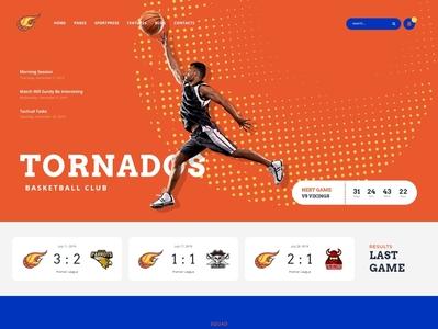 Tornados   Basketball WordPress Theme