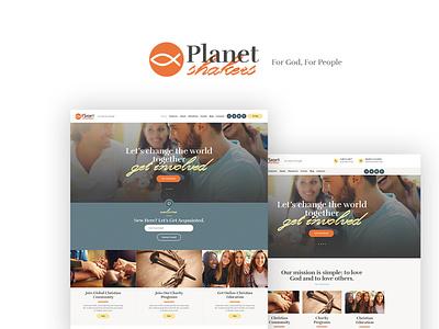 Planet Shakers | Church & Religion WordPress Theme business blogging wordpress design blog webdesign wordpress themes web design wordpress wordpress theme