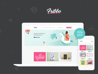 Fribbo - Freebies Blog WordPress Theme wordpress design blog webdesign wordpress themes web design wordpress wordpress theme