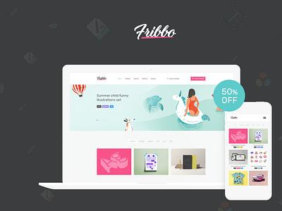 Fribbo - Freebies Blog WordPress Theme wordpress design blog webdesign wordpress themes web design wordpress wordpress theme