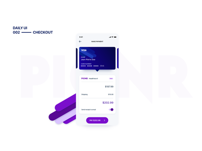 Daily UI 002 - Checkout ux uichallenge digitaldesign mobile ui ui mobile design user experience dailyui user interface uiux product design design