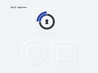Daily UI 005 - App Icon user interface mobile ui digitaldesign uichallenge mobile design user experience dailyui uiux product design design