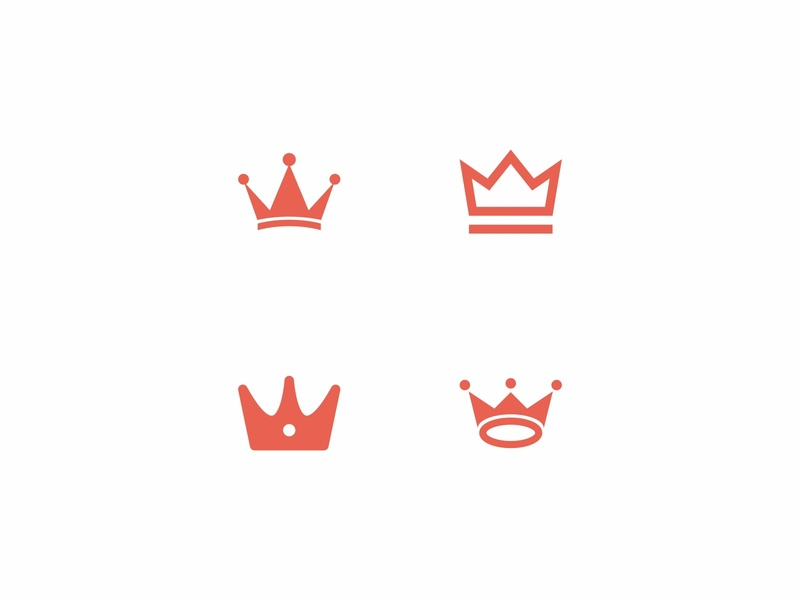 Simple Crown Logo designs design brand identity brand logo design logos crown of thorns crown logo crowns simple logo simple design branding logo crown simple