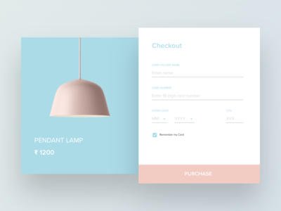 Checkout Screen - Daily UI Challenge #002