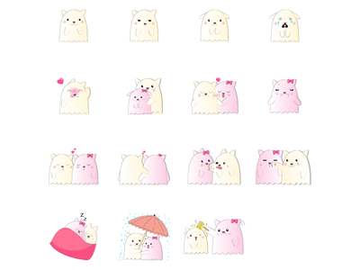 Bhutu - Social Media Sticker Collection