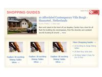 Shopping Guide Widget