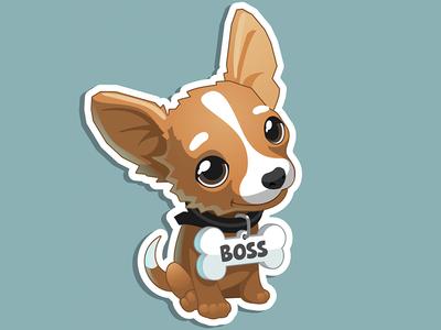 Boss dog boss