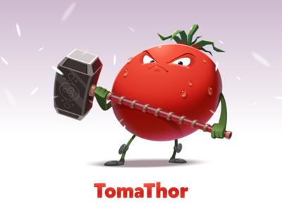 TomaThor thor tomato