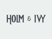 Holm & Ivy plain