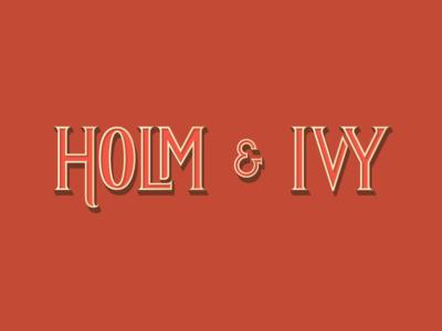 Holm Ivy decorative