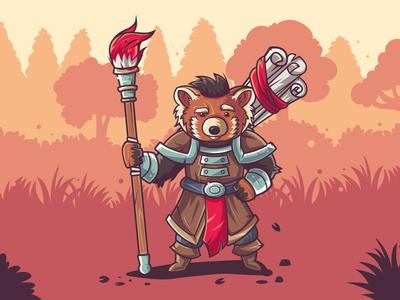 Red Panda - selfportrait