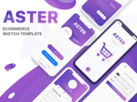 Aster mobile UI Kit