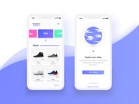 Spike shopping app - WIP