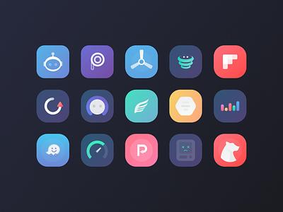 Viola Icon Pack for iOS cydia jailbreak ios icon pack iconpack theme redesign branding vector logo icon design