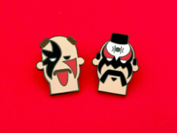 Legion of Doom Hard Enamel pins