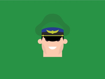 Mbison – Player 2 mbison green vector cute retro product designer typography character design street fighter flat colour illustration