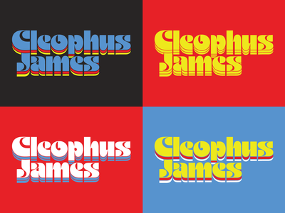 Cleophus James Logos — In Progress