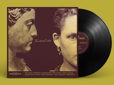 The Secret Odes Album Art: Unused Concept branding graphic design typography music design