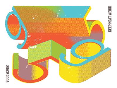 G5 Window Graphics in Progess true grit texture supply branding graphic design typography music richmond design