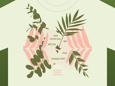 Kendall Street Company Shirt Design collage illustration band merch merch design shirt design branding music design