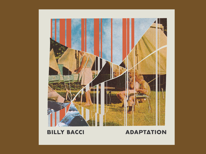 Billy Bacci Album Art album cover album art collage design rva music richmond