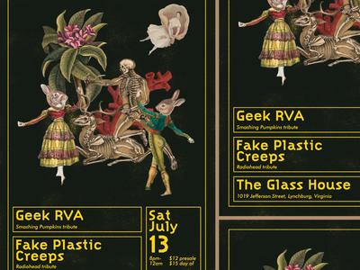 Geek RVA Gig Poster