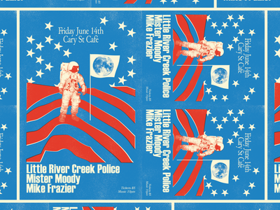 Little River Creek Police Poster