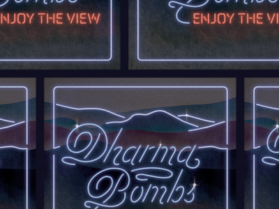 Dharma Bombs Album Art WIP