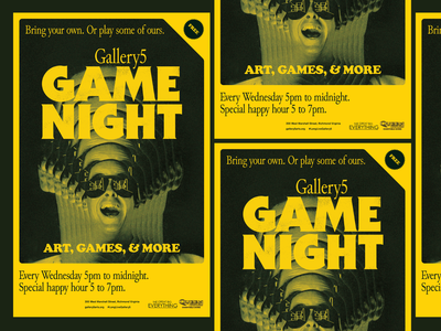 Game Night at Gallery5