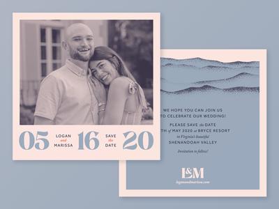 Logan and Marissa Save the Dates