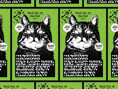 Demon Cat Poster