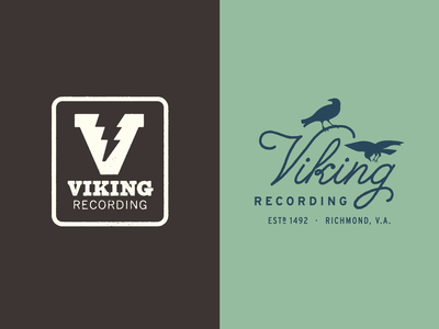 Viking Recording Logo Outtakes