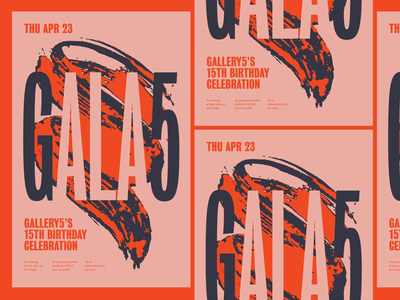 Gala5 Work in Progress bureau grotesk typography gig poster music design richmond