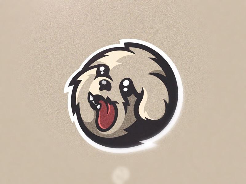 Puppy Mascot Logo By F Lix Dribbble Dribbble