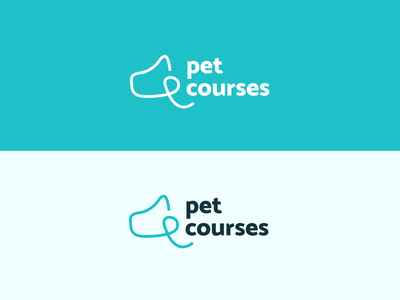 Pet Courses - Logo concept